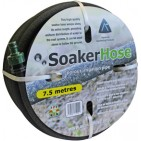 Buy Soaker Hose Online 7.5 metres - Supplied with End Plug, Male Hosetail & Tap Adaptor